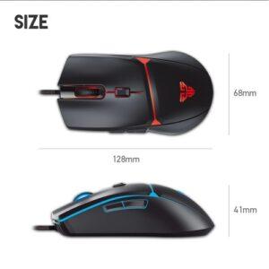 Fantech VX7 Crypto 6 Button USB Gaming Mouse
