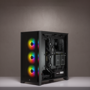 Corsair iCUE 4000X RGB Tempered Glass Mid-Tower ATX Casing