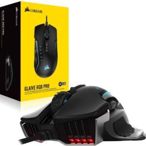 CORSAIR GLAIVE(Aluminum) RGB PRO Gaming Mouse