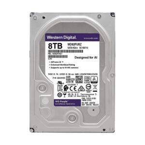 Western Digital Purple 8TB 3.5 Inch SATA 5400RPM Surveillance Internal Hard Drive