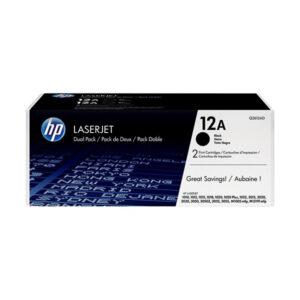HP 12A Black Original LaserJet Toner
